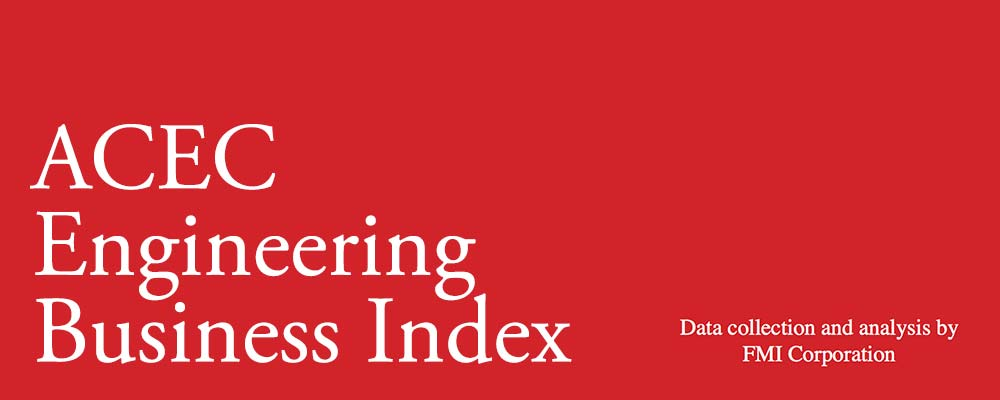 ACEC Engineering Business Index